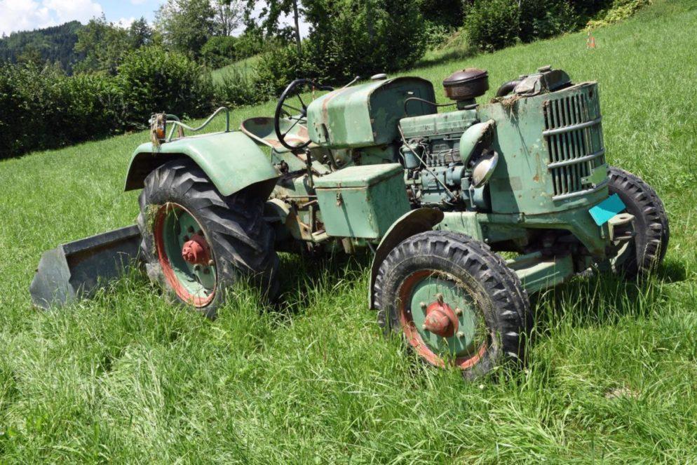 Udligenswil LU - Mann von Traktor überrollt
