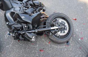 A14 Ebikon LU - Motorradfahrer bei Unfall erheblich verletzt