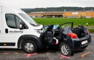 Lenkerin nach Verkehrsunfall in Felben-Wellhausen schwer verletzt