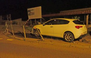 Autofahrerin verursacht alkoholisiert einen Unfall in Tobel