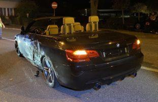 Neulenker (18) verunfallt mit BMW 335 in Gebenstorf