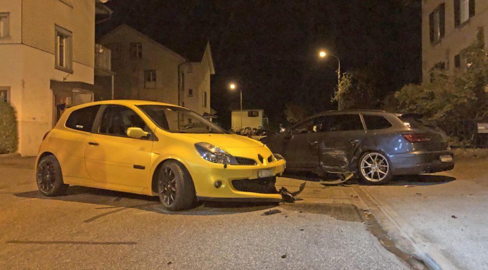 Autounfall Münchwilen TG - 21-Jähriger gerät auf Gegenfahrbahn