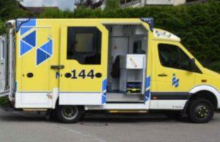 Zürich ZH - Verletzte Person nach Verkehrsunfall