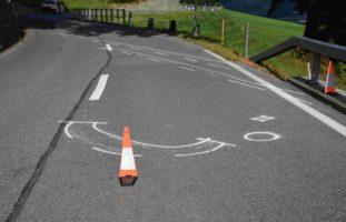 Altstätten SG - Unfall zwischen Motorrad und Auto