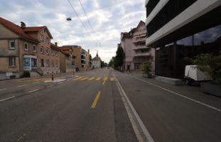 St.Gallen SG - Velofahrerin verletzt bei Unfall mit Auto