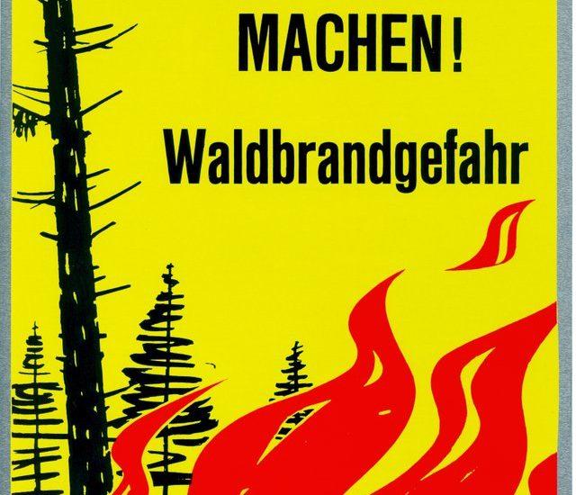 Weiterhin Waldbrandgefahr