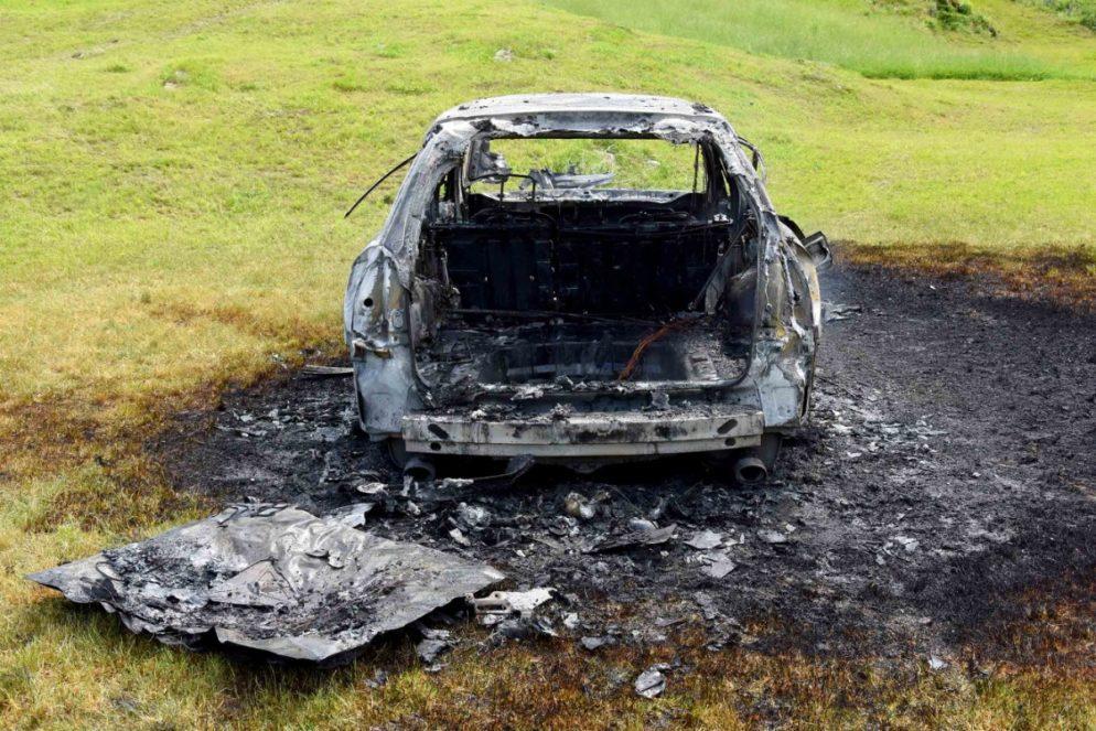 Mädchen (1) bei Fahrzeugbrand in Emmetten NW erheblich verletzt