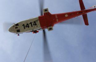 Unfall zwischen SUP und Wiffe 53 Hemishofen SH - Mann ins Spital geflogen