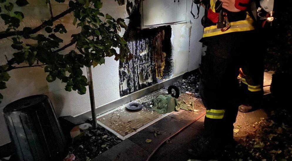 Feuerwehreinsatz in Steinhausen ZG