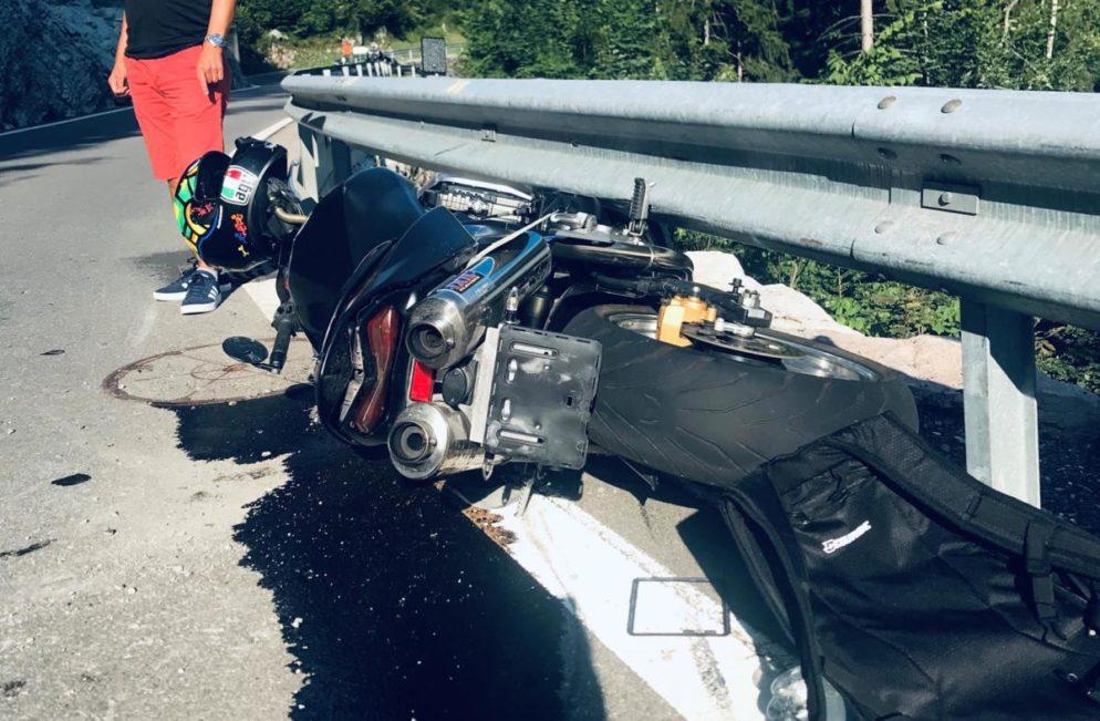 Motorradfahrer in Rickenbach verunfallt und erheblich verletzt