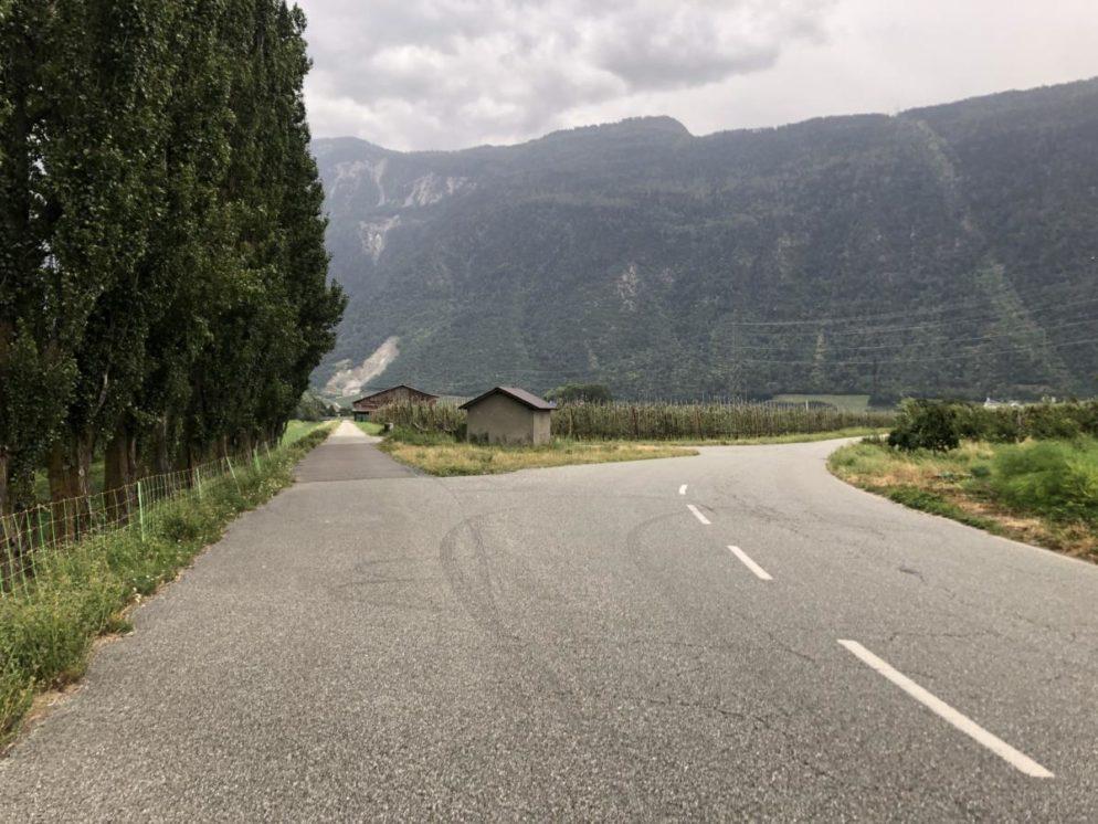 18-Jähriger bei Motorradunfall in Martinach schwer verletzt