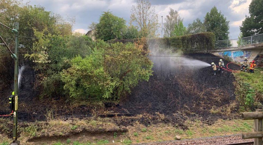 Zwischenfälle 1. August-Wochenende in Basel-Stadt - Velofahrerin fällt in Nebenkanal