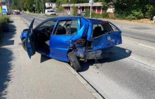Nach Unfall in Lenzburg: Fünf Personen ins Spital gebracht (darunter zwei Kinder)