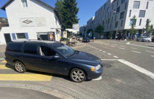 Unfall in Wettingen