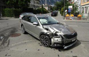 Heftige Kollision in Glarus
