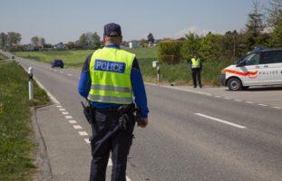 Alkoholisierter Motorradlenker in Montagny-les-Monts unterwegs