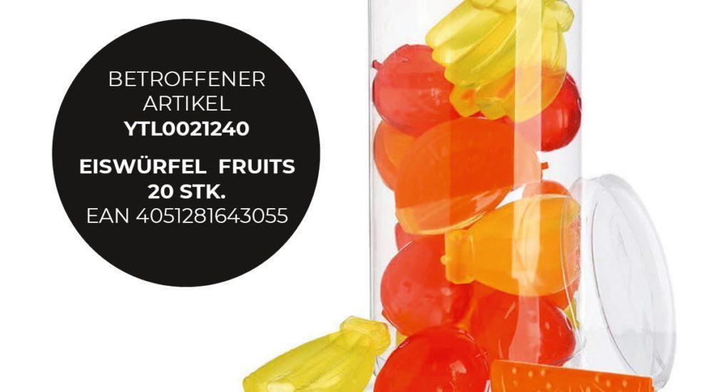 Vorsicht Fruits - es herrscht Erstickungsgefahr
