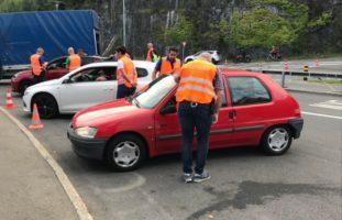 Polizeiliche Grosskontrolle in Obwalden