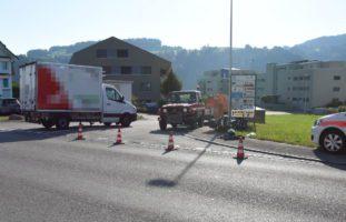 Motorradlenker in Bütschwil verunfallt