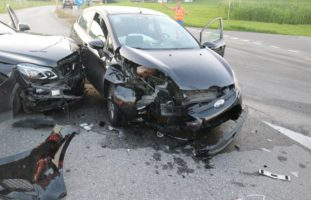 Vier Verletzte nach Unfall in Appenzell