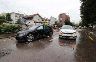Zwei Verletzte bei Unfall in St.Gallen
