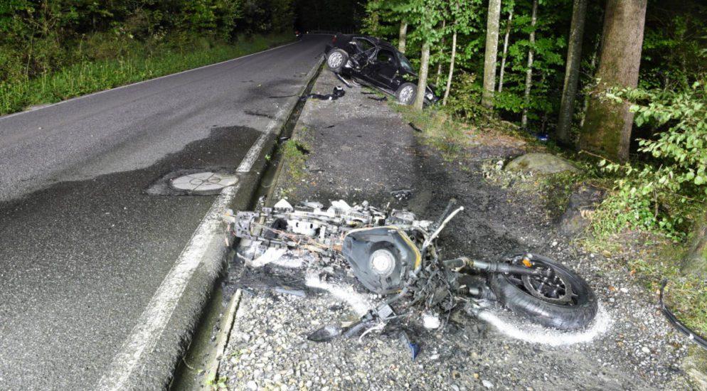Schrecklicher Unfall in Kriens fordert Schwerverletzte