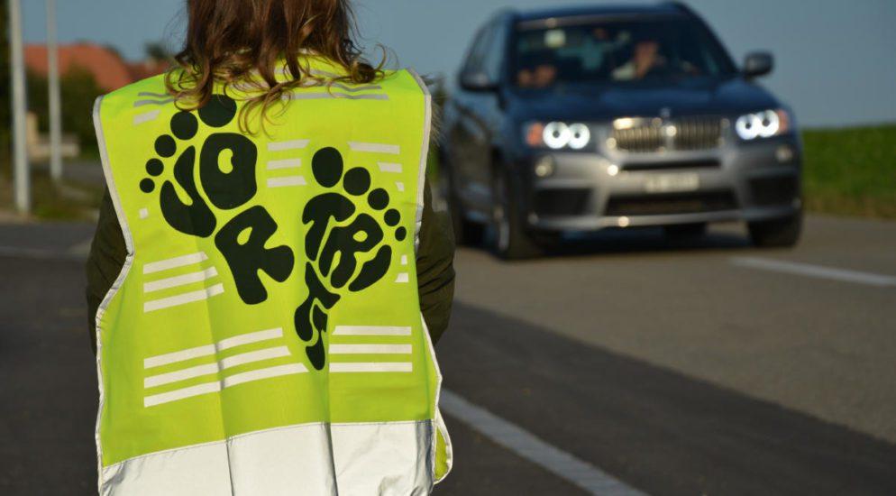 Thurgau TG - Sicherheit für Schulkinder durch Leuchtwesten