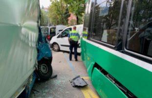 Basel-Stadt BS - Vier Verletzte nach Tram-Unfall