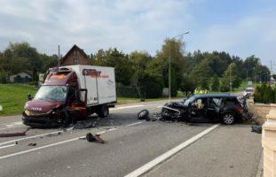 Schwerer Verkehrsunfall in Oftringen AG