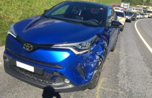 Verkehrsunfall in Mitlödi GL