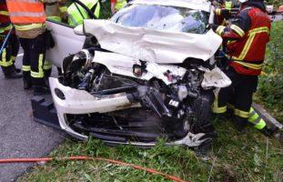 Schwerer Verkehrsunfall in Büsserach SO