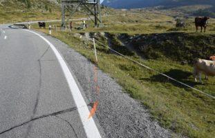 Motorradunfall in Pontresina GR - Fahrer schwer gestürzt