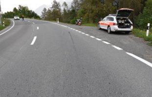 Selbstunfall in Scuol GR - Motorradlenker (30) gestürzt