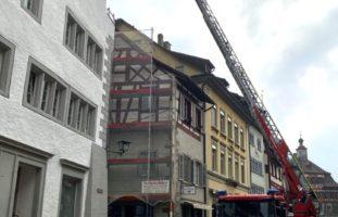 Brand Feuerwehr Schaffhausen