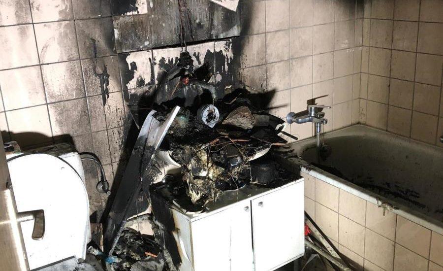 Kerze löst Brand aus - Neun Verletzte in Füllinsdorf BL