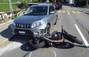 Unfall Motorrad Appenzell