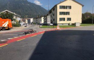 Unfall Glarus Fahrräder
