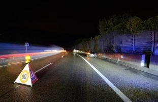 Drei Verkehrsunfälle binnen 15 Minuten auf der A2 Zunzgen