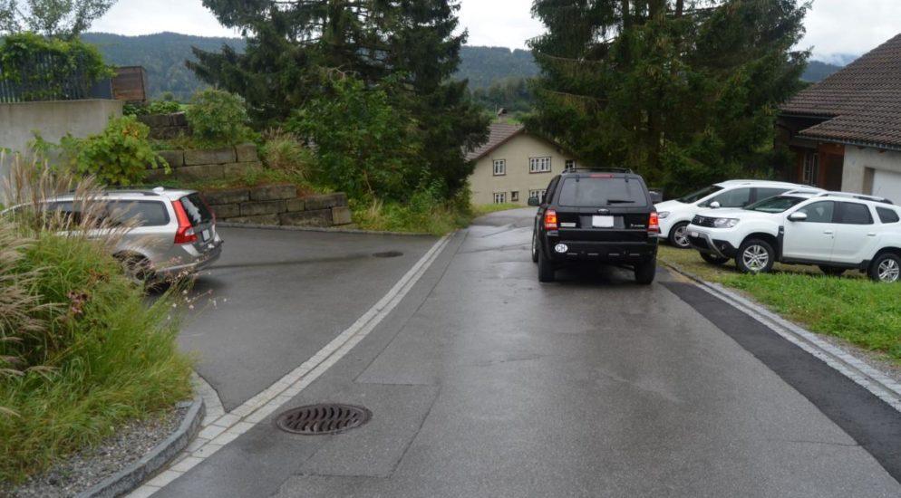 Unfall Appenzell Gais