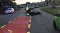Mehrere Verletzte bei Crash in Biberist SO