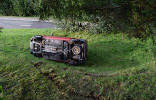 Unfall erheblich verletzt