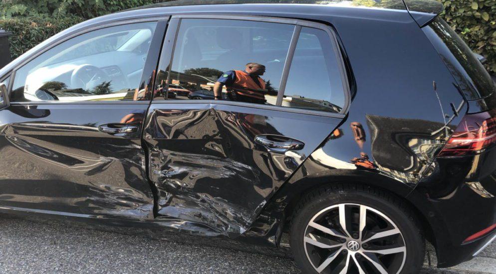 Selbstunfall in Rapperswil-Jona SG - Autolenker (37) fährt bei Rot