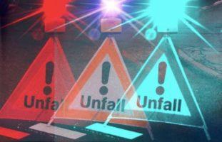 Verkehrsunfall in La Chaux-de-Fonds NE