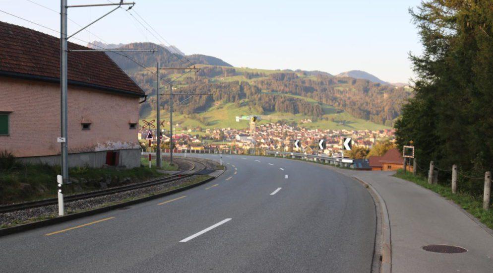Motorradfahrer nach Unfall in Appenzell verletzt
