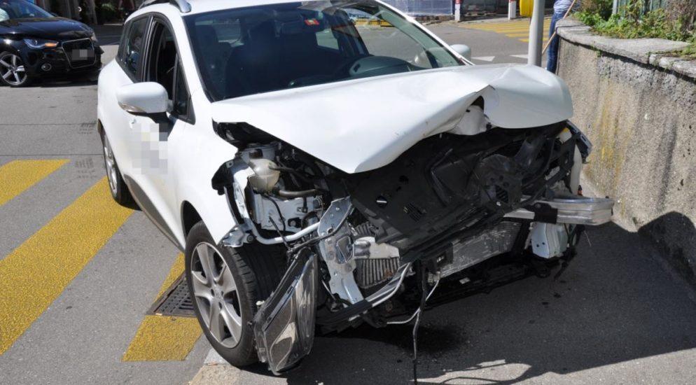 Verkehrsunfall in Grenchen SO