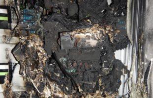 Berlingen: Stromverteileranlage in Brand geraten