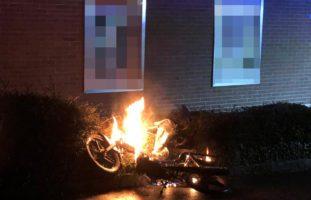 Mofa in Aadorf in Brand geraten