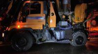 Bei Unfall in Aadorf: Dieseltank von Lastwagen aufgerissen