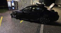 A3 Mumpf AG - BMW-Fahrer (30) begeht Unfallflucht und verletzt sich schwer