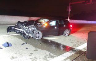 A3 / Brugg AG - BMW-Fahrer (29) rast alkoholisiert in Tesla